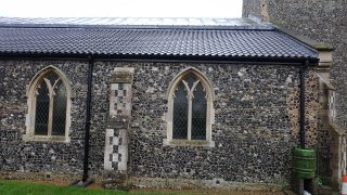 Mulbarton Church North Aisle Roof Complete