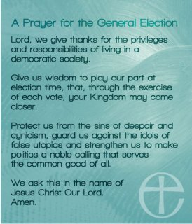 Praying on Election Day
