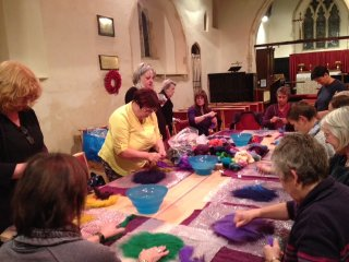 Flordon Craft Club - Felt Demonstration