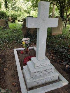 War grave restoration