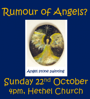 Rumours of Angels? Angel Stone Painting