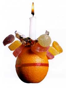 Messy Christingle