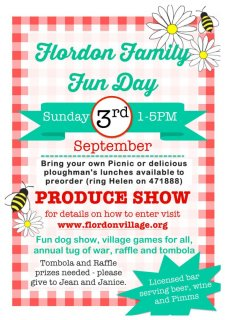 Flordon Family Fun Day