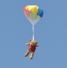 Teddy Bear Parachute Competition
