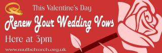 Valentine Renewal of Wedding Vows
